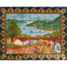 85 best mex murals images on mexican tiles tile
