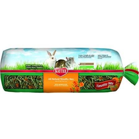 Kaytee Timothy Hay Plus Carrots Pet Treat - Marigolds