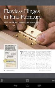 fine woodworking magazine android apps on google play