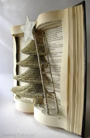Christmas Tree Books Diy by Jarron Dinner Party Pinterest Book Folding Manualidades And