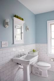 bathroom colors country teal accent wall towel blue floor