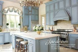 Inspiring Kitchen French Country Blue Video And Photos Madlonsbigbear Com At