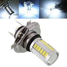 2pcs car h4 led headlight bulbs 12w 5630 smd 6000k 500lm led fog
