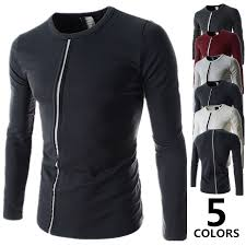 2015 New Fashionable Cotton T Shirts Men Long Sleeve Design Male Tops Tees Fashion Casual Tshirts For Man In From Mens Clothing Accessories On