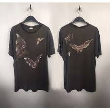 Bat Shirt 1990 Vintage T 90s Grunge Clothing Goth