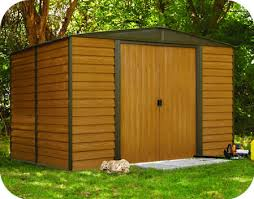 arrow galvanized steel storage shed 10x8 arrow 10x8 woodridge metal storage shed kit wr108