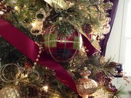 Evergleam Aluminum Christmas Tree Instructions by Burgundy U0026 Gold Christmas Tree By Ribbonista Leah Farrar White