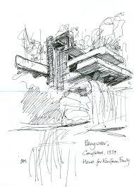 100 Frank Lloyd Wright Sketches For Sale Falling Water Frank Lloyd Wright