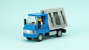 100 Glass Truck LEGO Carrier MOC Building Instructions YouTube
