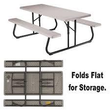 Lifetime Folding Picnic Table Assembly Instructions by Buy Lifetime Folding Picnic Table 6 U0027 At S U0026s Worldwide