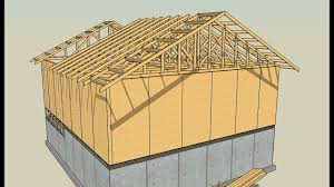 100 House Trusses Drawing Lumber With SketchUp Series Part 8 How To Draw Roof