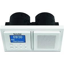 technisat digitradio up 1 dab unterputzradio radio zur anbringung in jeder doppel unterputzdose dab ukw bluetooth wecker 2 watt rms