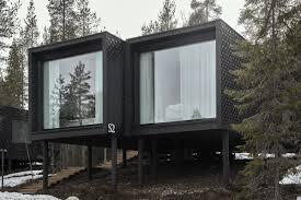 100 Tree House Studio Wood Arctic Hotel ArcticScene Suites Puisto