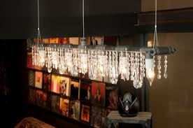 Lamps In Wayfair Commercial by Michael Mchale Designs Industrial Linear 5 Light Crystal