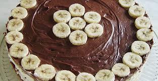 schokoladen bananen torte 1k rezepte