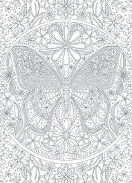 BUTTERFLY Coloring Card Cards 395