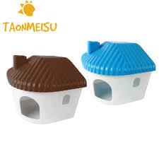 tragbare hamster bewohner schlafzimmer kleine tiere hamster sandbad zimmer kleine haustier käfig zubehör spielzeug