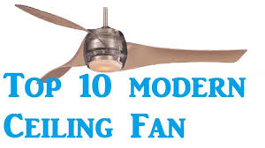 Retractable Blade Ceiling Fan India by Top 10 Best Modern Ceiling Fans Youtube