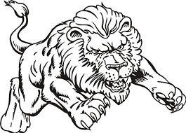 Peachy Design Ideas Coloring Page Lion Pages Az