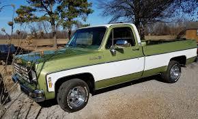 100 Cheyenne Truck 1976 Chevy Mark K LMC Life