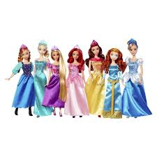 Disney Bath Sets Uk by Amazon Com Disney Princess Royal Doll Collection 7 Pack Toys U0026 Games