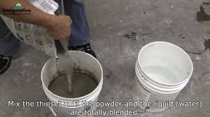 Mapei Porcelain Tile Mortar Mixing Instructions by How To Mix Thinset Greenville Sc Professional Tile Installer