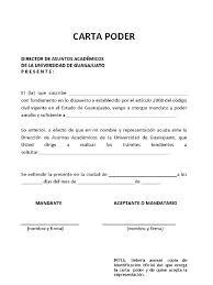 ANTENA Docente Certificación De Carta Poder