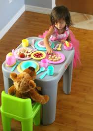 Step2 Furniture Toys by Toddler Tea Party Step2 Mighty My Size Table U0026 Chairs