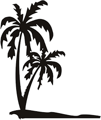 Wall Mural Decals Beach by Palm Trees Wall Art Decals 75 Jpg 1007 1200 Cameo Cut Files