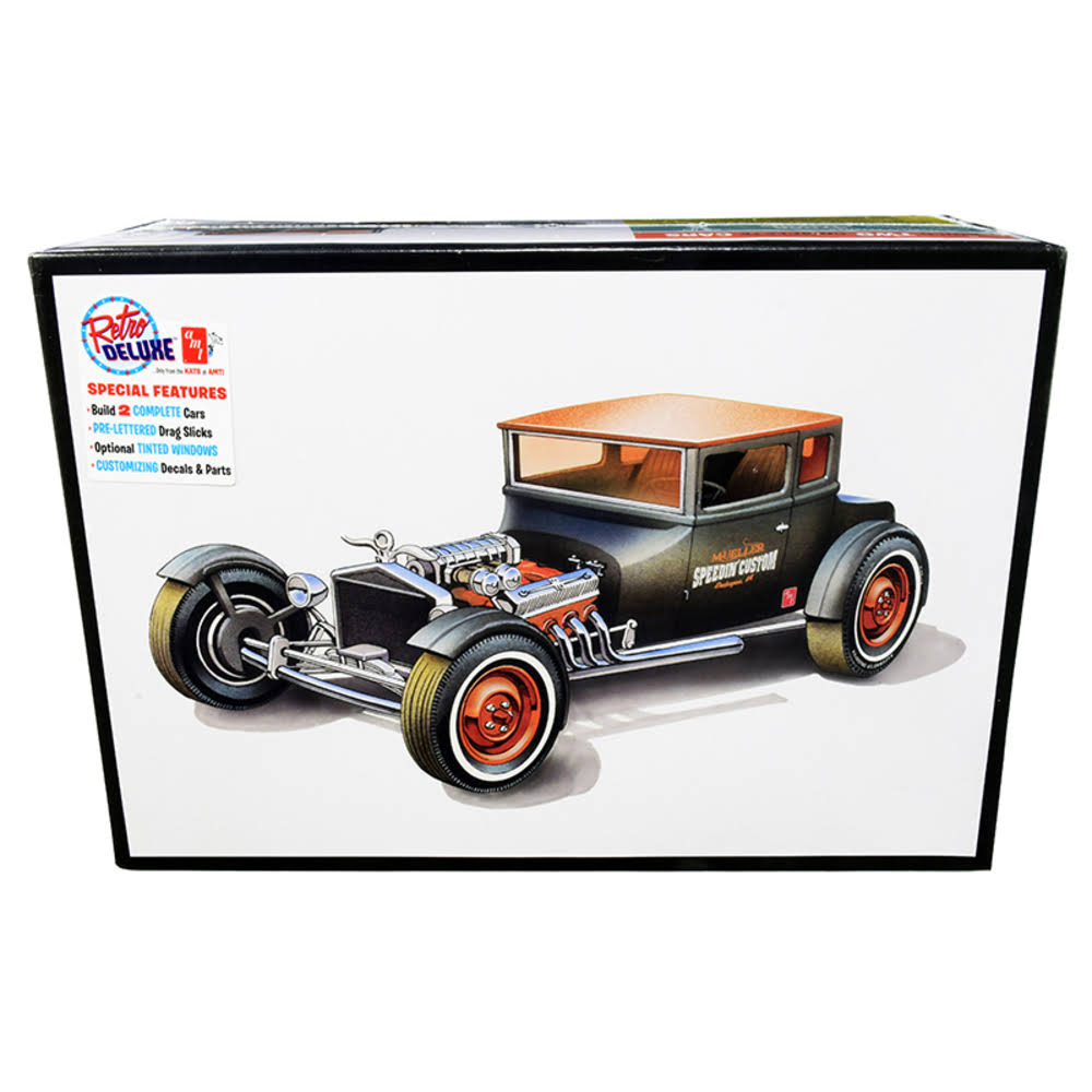 AMT 1925 Ford T Chopped 2in1 Plastic Model Kit - 1/25 Scale