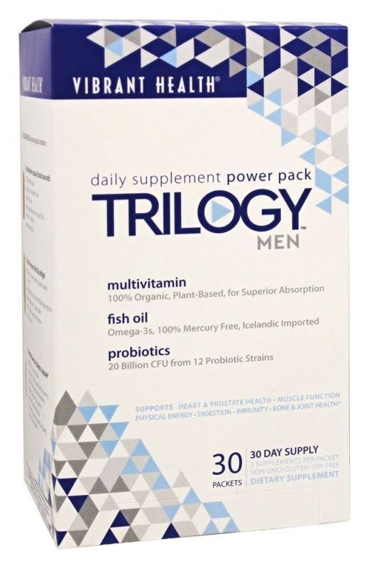 Trilogy Men Daily Supplement Power Pack
