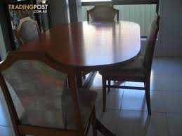 DINING TABLE EIGHT CHAIRS