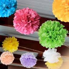 Paper Flower Balls For Wedding