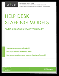 Help Desk Technician Salary Dc by Help Desk Staffing Models Simple Analysis Can Save You Money Giva
