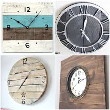 16 Pallet Clock Tutorials Rustic Wall Clock Oversized Oval Roman Numeral 40cm Pallet Wood Diy Youtube Pottery Barn Shelves 16 Image Avery Street Design Co Farmhouse Clocks And Fniture Best 25 Large Wooden Clock Ideas On Pinterest Old Wood Projects Reclaimed Home Do Not Use Lighting City Reclaimed Barn Copper Pipe Round Barnwood Timbr Moss Clock16inch Diameter Products