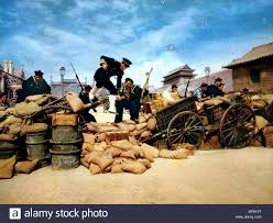 macdonald siege the boxer rebellion siege 55 days at peking 1963 stock photo