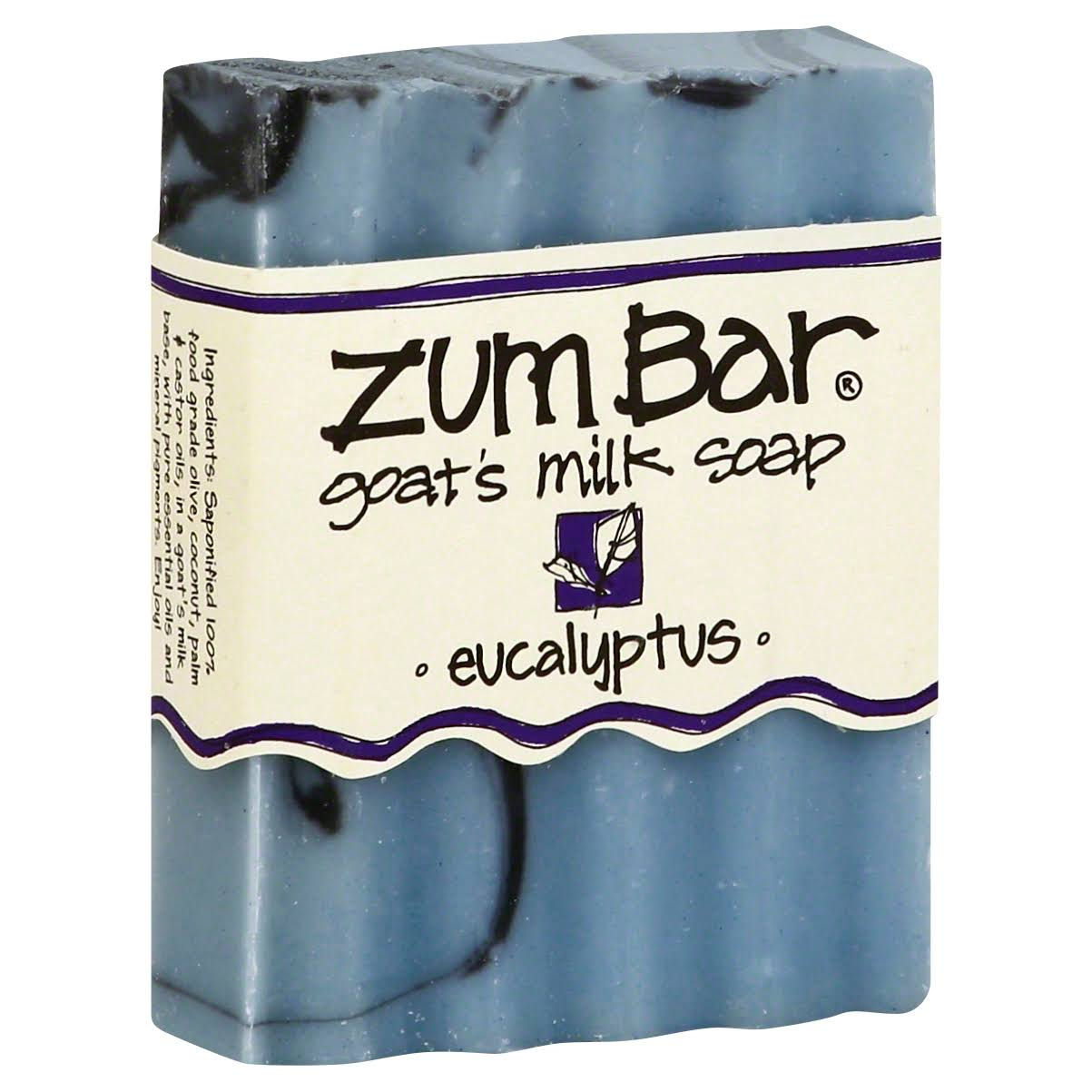Indigo Wild Zum Bar Soap - Eucalyptus, 3oz