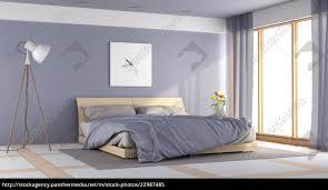 stockfoto 22987485 modernes lila schlafzimmer
