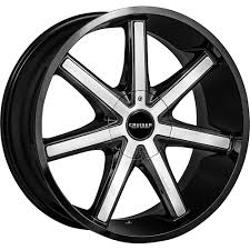 2 New 24X9.5 Cruiser Alloy 926MB Defiant Black Wheels Rims +25 6X135 ...