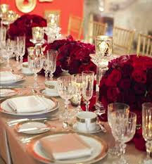 Nice Red Wedding Decorations 6