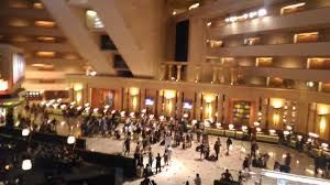 Luxor Casino Front Desk by Overlooking The Casino Entry From 3rd Floor Picture Of Luxor Las