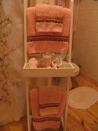 Decorative Towels For Bathroom Ideas by Decorative Bathroom Towels With Ribbon Border