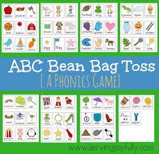 ABC Bean Bag Toss