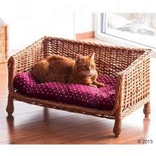 cat sofa aumüller wicker cat sofa great deals at zooplus ie