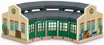 Thomas And Friends Tidmouth Sheds Trackmaster by Amazon Com Fisher Price Thomas The Train Wooden Railway Tidmouth