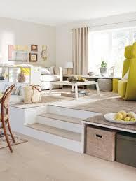 wohnzimmergestaltung ab aufs podest wohnidee wohnen