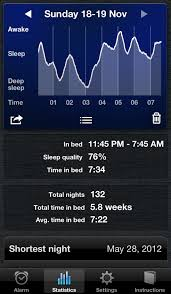 Sleep Cycle alarm clock for iPhone Download