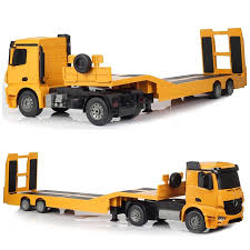 100 Truck Flatbed Details About Remote Control RC Semi Trailer Kids Toy Car Transport
