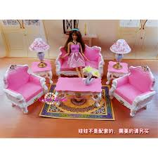Barbie Living Room Playset by Miniature Furniture My Fancy Life Living Room Set For Barbie Doll