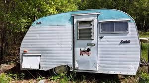 Vintage Old Camper Travel Trailer Serro Scotty Shasta 1950s 60s